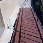 Balkon - przyklejanie płytek bezpośrednio na gumę CWS R