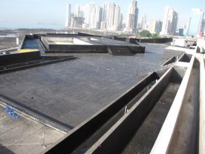 Concrete roof deck 645