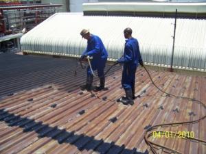 CSW 1000N - Dach blaszany